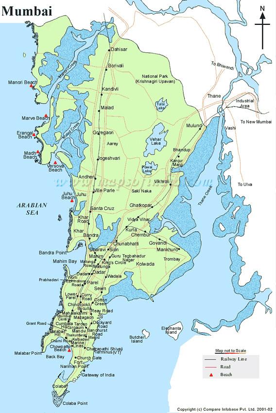 Mumbai City Map City Map of Mumbai,India Mumbai Map,Mumbai City Map Mumbai City Map
